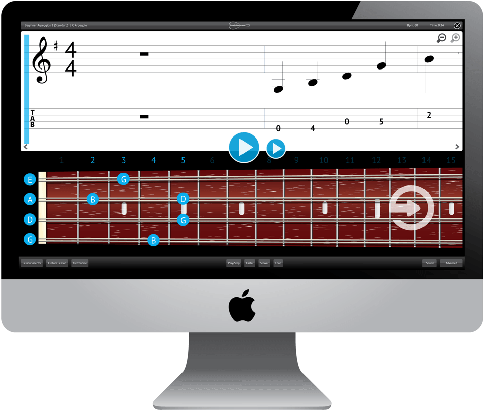 Purely Bouzouki Software Application